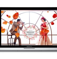 Mikhael and Gisella - Venti Package by LIfegreet Online Invitation