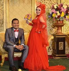 Russian Red by Stephanie Wedding Bride