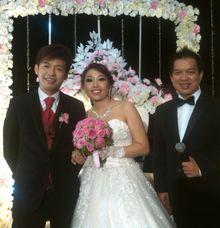 wedding event 2014 mario and nessia by Steve Harry MC