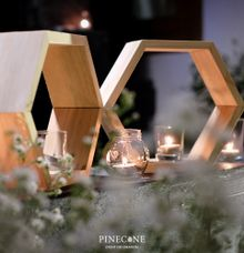 The Engagement of Firra & Kurnia by Pinecone Event Decoration