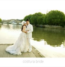 Prewedding Dress by costura bride and evening wear