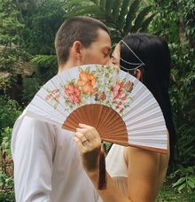 Prewedding Accessories by Wiracana Hand Fan