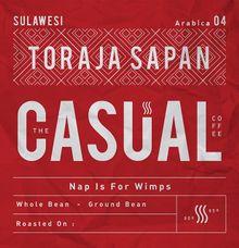 Toraja Sapan Arabica by The Casual Coffee