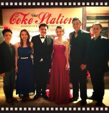 John Lye & Ywenna (4-piece band) feat Turbochicken and Fabian at Grand Hyatt Wedding Dinner by Merry Bees Live Music