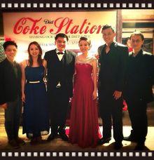 John Lye & Ywenna (4-piece band) feat Turbochicken and Fabian at Grand Hyatt Wedding Dinner by Merry Bees Live Music