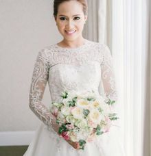 Darlyn & Martoni Wedding by Carlos Durana Make-up Studio