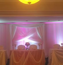 custom designed backdrop by Bella Amour Events Hawaii