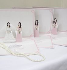 Bridesmaid Pop Up card by Paperica