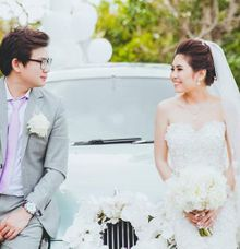 William and Angel Wedding by Empu Limousine