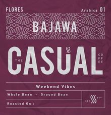 Flores Bajawa Arabica by The Casual Coffee