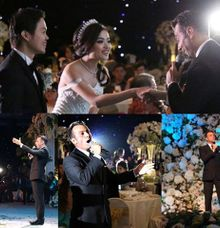 Wedding of Mahendra and Revica by Tarik The Tenor ( The Luxury Entertainment )
