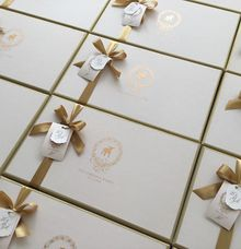 Box hampers & packaging by Pensée invitation & stationery