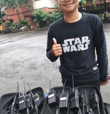vendoring HT ke event Lomba classmeeting SMAn 39 Cijantung by ezzy vendor HT Handy Talky Event | Jakarta - Depok