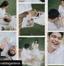 Nabila Gardena & Harits Prewedding Makeup by Lorita Young MUA