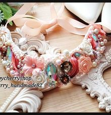 Statement Necklace by Cherry's  Handmade