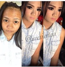 Party makeup by Imel Vilentcia Make Up Artist