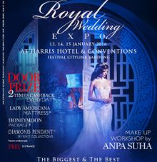 Grand Royal Wedding Expo 2016 by Natasha Clara Professional Makeup Artist