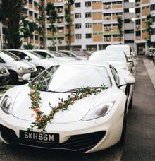 Rustic Theme Wedding Car by Ultimate Drive
