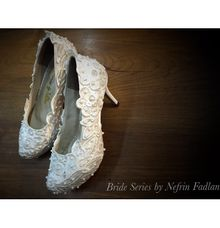 Wedding shoes by Nefrin Fadlan for brideseries wedding shoes