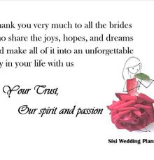 When I say .... by Sisi Wedding Consultant & Stylist