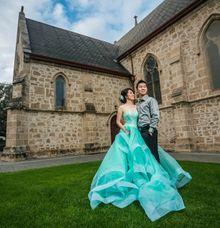 Jess's Prewedding by SAVORENT Gown Rental