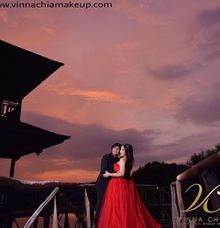 Prewedding by Vinna Chia Professional Make Up Artist