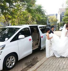 Michelle Budi Pengantin Wedding Car 15 Agustus 2020 at Hotel Aston by Fendi Wedding Car