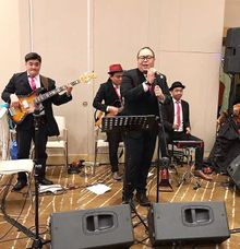 Entertaining at Ahava Ballroom  by Muse Entertainment