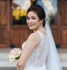 Mae  in Penelope by Francis Libiran Bridal