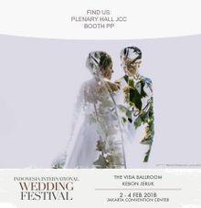 INDONESIA INTERNATIONAL WEDDING FESTIVAL 2-4 Febuari 2018 by The Vida Ballroom