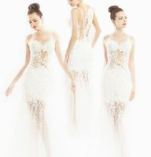 Sheer Lace by Ann Teoh Couture