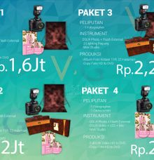 Pricelist Wedding Documentary VIGI Studio -Juni 2016- by VIGI STUDIO