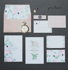 NONICA & NICOLA WEDDING INVITES by Pentone Craft and Paper