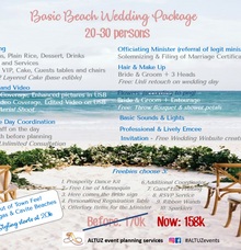 Let's talk about beach wedding planning! by ALTUZ events