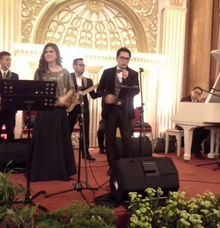 Wedding performance by Rasya Production