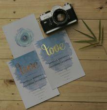 Wedding Invitation by Derzia paper