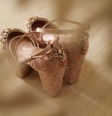 Bespoke Wedding Shoes For Patricia by toteshoes