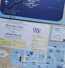 Boarding Pass Invitation by Paperycut
