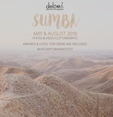 Sumba Trip May & August 2019 by Delova Photography