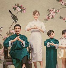 Family Dress For Chinese New Year by Sewa Gaun Pesta
