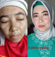 Makeup For Mom And Bride by FitriamakeUp