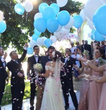 Blue Point Ariel Sheila by Sisi Wedding Consultant