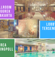 Ballroom Anggrek Hotel Orchardz Jayakarta by Orchardz Hotel Jayakarta