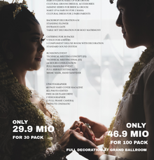 Intimate Akad/Holy Matrimony Wedding Package by darihati.organizer