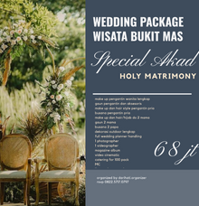 Wedding outdoor package Wisata Bukit Mas Surabaya by darihati.organizer