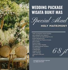 Wedding outdoor package Wisata Bukit Mas Surabaya by darihati.organizer