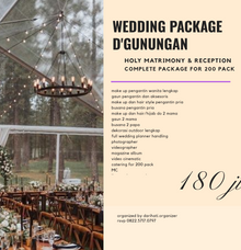 Wedding Outdoor Package by darihati.organizer