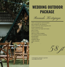 Wedding Outdoor Package Rumah Kertajaya by darihati.organizer