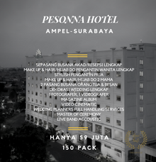 Intimate Wedding Package Pesonna Hotel Surabaya by darihati.organizer