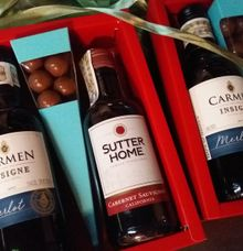 Wine Gift Box Philippines by Megabites Chocolate